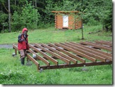 06-04-08 Deck for the ranch store yurt 010